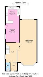 kosher kitchen floor plan upper park road broughton park u2013 amco lettings u0026 property