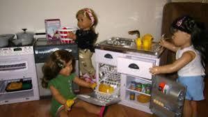 18 inch doll kitchen furniture 18 doll furniture kitchen cooking dish washer