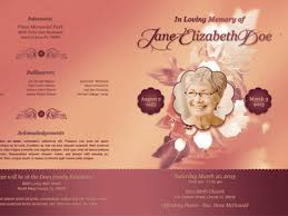 images of funeral programs tags funeral programs template free dribbble