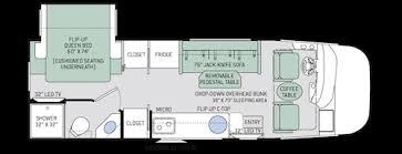 axis ruv class a motorhomes floor plans thor motor coach