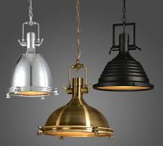 Chrome Pendant Lighting Vintage L American Style E27 Copper Chrome Pendant Ls With