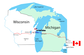 Cities In Michigan Map by 7 Michigan U2013 Brad Edmondson
