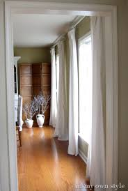 Window Treatments Dining Room What I Am Loving Now Bare Windows In My Own Style