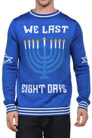 halloween sweaters for women men u0027s we last eight days hanukkah sweater tipsy elves