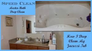Bathtub Jacuzzi Speed Clean Master Bathroom Deep Clean U0026 Jacuzzi Tub Deep Clean