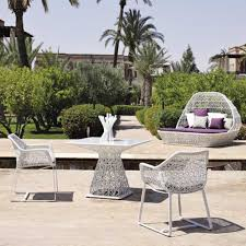 modern furniture white modern outdoor furniture compact painted