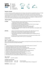 Sample Resume For Chef Job by 28 Sample Resume Chef Chef Resume 9 Free Samples Resumes Format