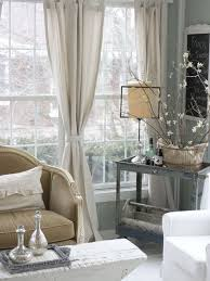Tie Top White Curtains 20 Different Living Room Window Treatments