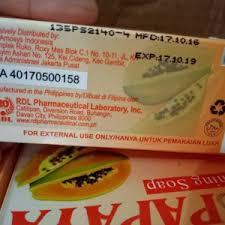 Sabun Rdl jual sabun rdl papaya asli 100 sabun pepaya best seller
