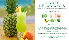 tropical drink emoji midori melon liqueur drinkmidori twitter