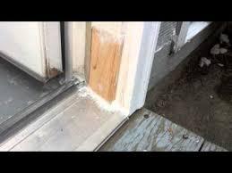 Shower Door Drip Rail Replacement by Patio Door Frame Repair Images Glass Door Interior Doors