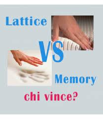 meglio materasso a molle o in lattice come 礙 fatto un buon materasso meglio memory o lattice o forse
