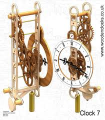 the automata blog download three new free wooden clock plans