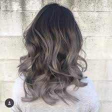 best way to blend gray hair into brown hair grey ombre pinteres