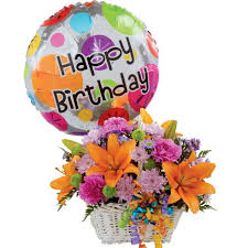 nationwide balloon bouquet delivery service happy birthday bouquet and balloon at send flowers