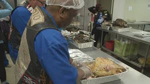 thanksgiving thunder rolls into columbus to help feed the homeless