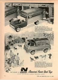 1960 advert 2 sided makit toy toys construction scientific set