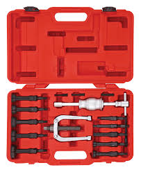 Blind hole bearing puller set 16 pcs SONIC Tools USA