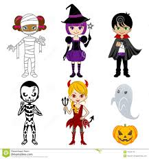monsters halloween cute halloween monsters isolated stock photo image 34234140