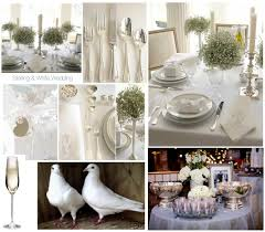 white and silver wedding decor silver wedding centerpieces for
