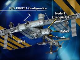 path clear for sts 130 to attach tranquility module universe today