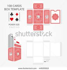 Playing Card Design Template Playing Cards Box Stock Images Royalty Free Images U0026 Vectors
