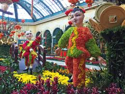the bellagio and palazzo ring in chinese new year las vegas blogs