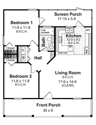 country kitchen house plans 2 bedrm 800 sq ft country house plan 141 1078