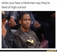 Funny High School Memes - when you hear a freshman say they re tired of high school funny