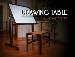 Drafting Table Blueprints 80 20 Inc Xtreme Diy Drawing Table