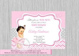 ballerina baby shower invitations ballerina baby shower invitations tutu ballerina baby shower
