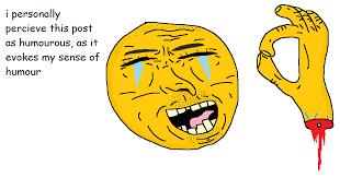 Smiling Crying Face Meme - shitpostbot 5000