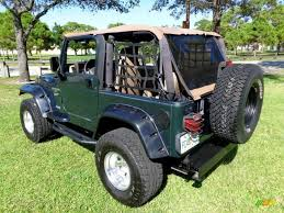 2001 jeep wrangler sport 4x4 in forest green 348117 jax sports