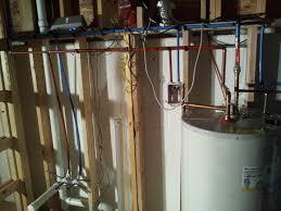 Plumbing Rough plumbing studio redo