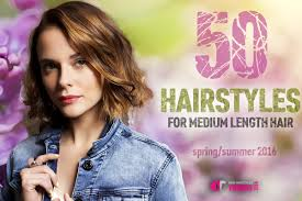 50 hairstyles for medium lenght hair for spring and summer 2016