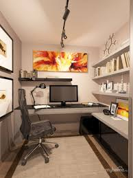 nice small home office practical setup kind of how my office is