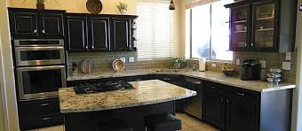 How To Reface Cabinets Kitchen Cabinet Refinishing Refacing Phoenix Arizona