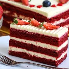 Birthday Cake Delivery Red Velvet Cake Vibrant And Delicious Free Delivery
