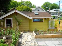 pdx eco cottage a sustainably built craftsman style backyard