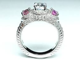 rings pink stones images Sapphire engagement rings from mdc diamonds nyc jpg