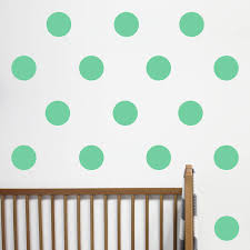 big dot wall stickers by little chip notonthehighstreet com dot wall stickers multi colour mint