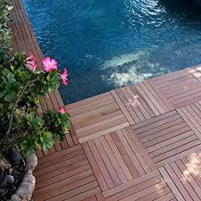 amazon com click interlocking hardwood flooring tiles style