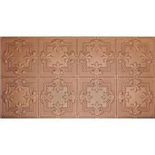 Stick On Ceiling Tiles by Glue Up Surface Mount Tiles Ceiling Tiles The Home Depot