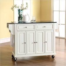 mainstays kitchen island white kitchen cart island solid black granite top kitchen cart
