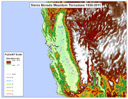 Oregon Temperature Map by Tornadoes Don U0027t Happen In Mountains Or Do They Debunking The