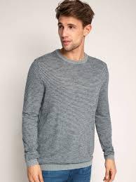 buy esprit navy u0026 red striped sweater sweaters for men myntra