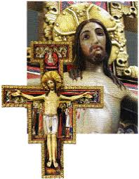 san damiano crucifix franciscan friars third order regular san damiano cross