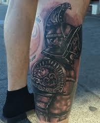 Lower Leg Tattoo Ideas Lower Leg Gladiator Tattoo Designs For Men Arm Glad Pinterest