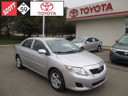 toyota corolla 2009 maintenance schedule used 2009 toyota corolla auto for sale in waterford mi