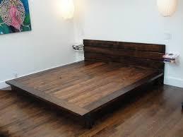 Platform King Bed Reclaimed Platform King Bed Frame Metal Platform King Bed Frame
